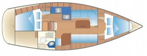 Floor plan Bavaria 34