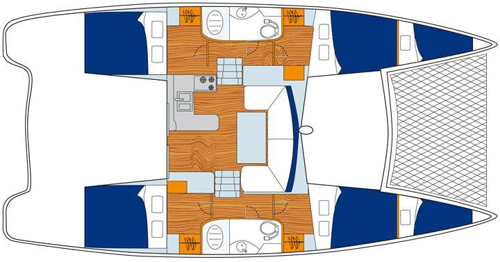 Floor plan Leopard 384