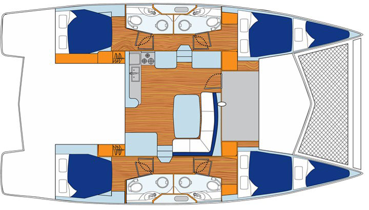 Floor plan Leopard 444